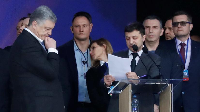 Эксперт прокомментировал прошедшие на Украине предвыборные дебаты