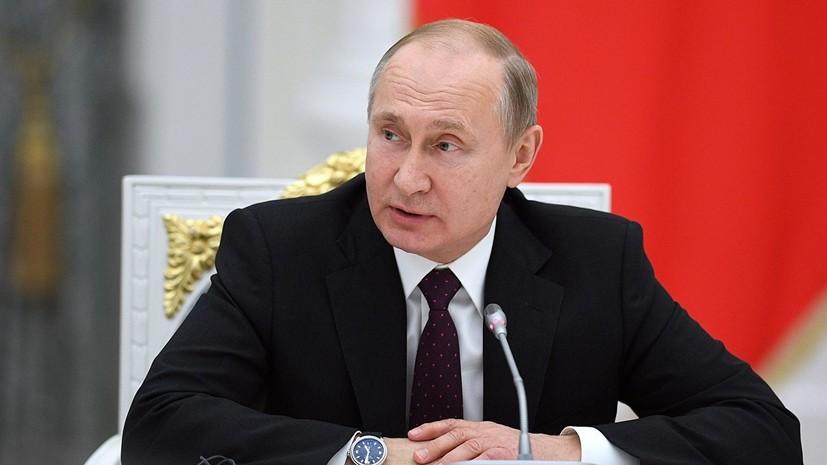 Путин поручил МЧС усилить группировку для тушения пожаров в Забайкалье