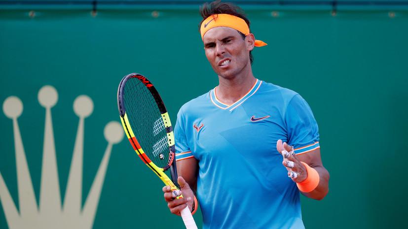 Надаль сыграет с Фоньини в полуфинале турнира ATP в Монте-Карло