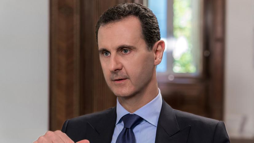 Представители России обсудили с Асадом урегулирование в Сирии