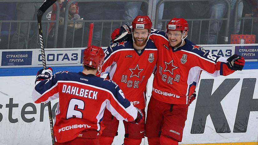 Колобков назвал заслуженной победу ЦСКА в финале Кубка Гагарина