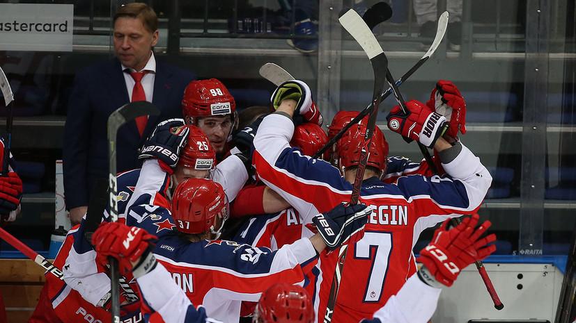 Глава КХЛ назвал фееричной и бескомпромиссной борьбу ЦСКА и «Авангарда» в финале Кубка Гагарина