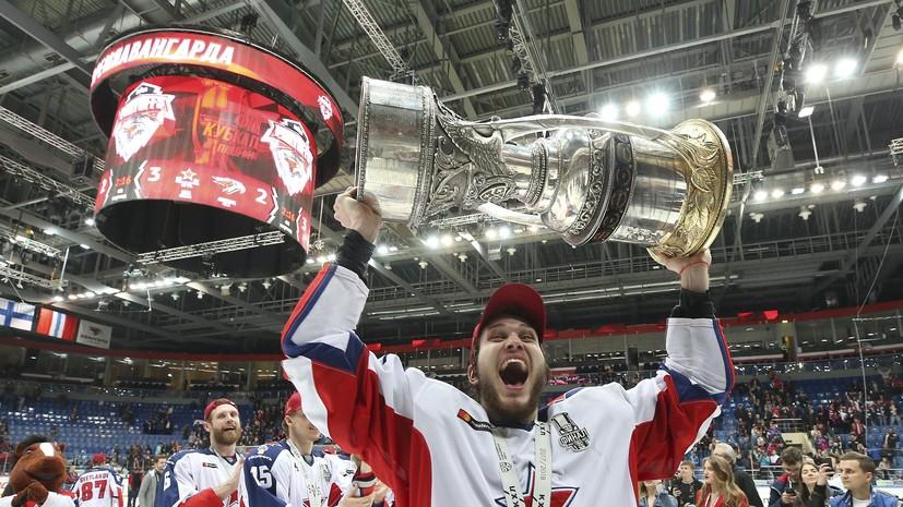 «У нас был нереальный аппетит»: о чём говорили игроки и тренеры ЦСКА после победы в Кубке Гагарина