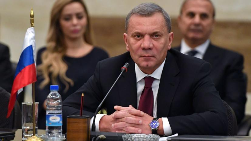 Борисов обсудил с Асадом восстановление экономики Сирии