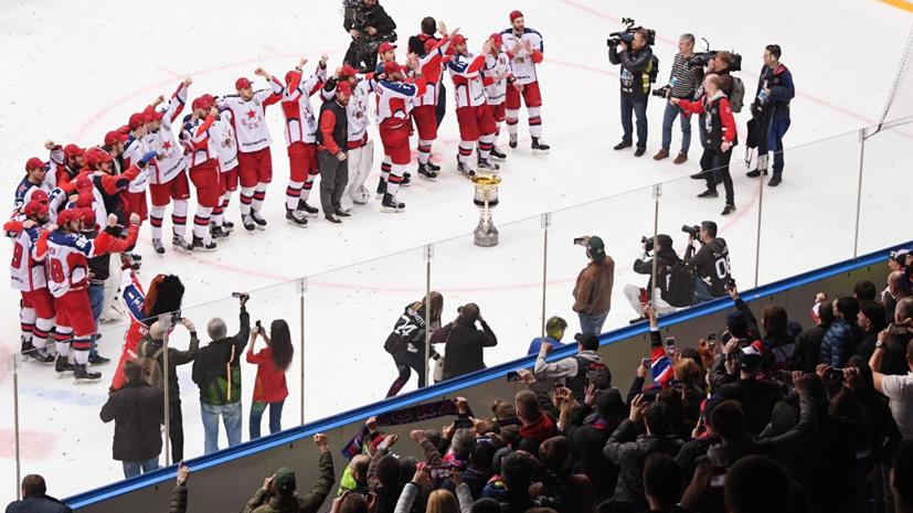 В сборную России по хоккею для подготовки к ЧМ вызваны семь игроков ЦСКА