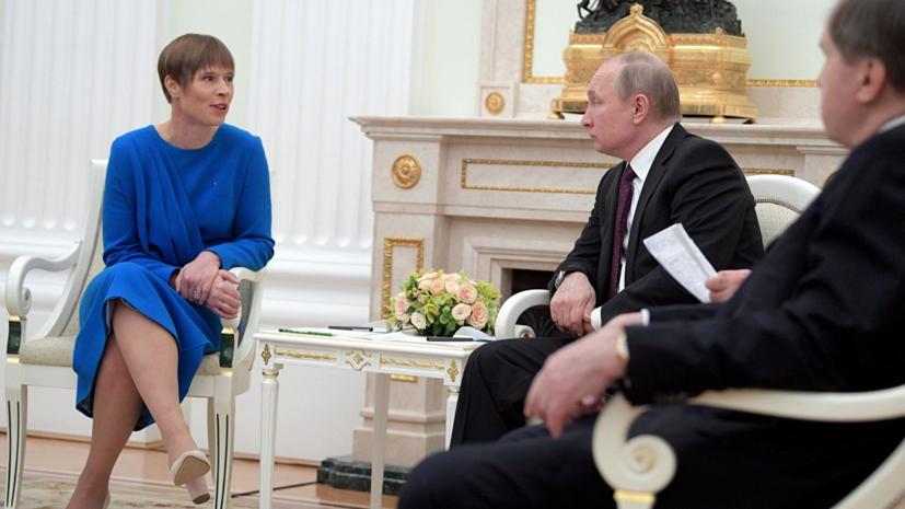 В Госдуме оценили реакцию Литвы на встречу президентов России и Эстонии