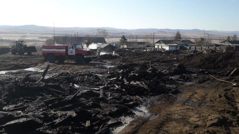 Территория природного заказника пострадала при пожаре в Забайкалье