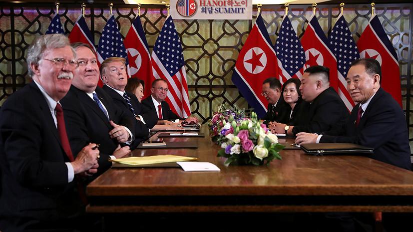 «Заложники переговорного процесса»: как критика США со стороны КНДР может сказаться на диалоге по денуклеаризации
