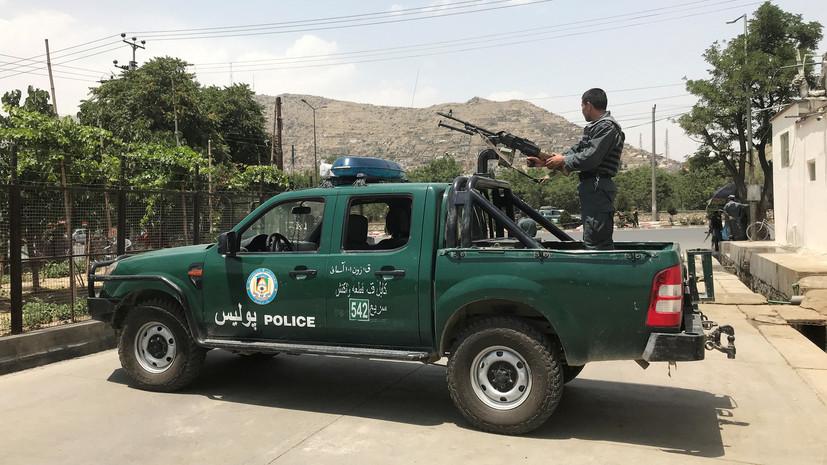 При нападении в центре Кабула пострадали шесть человек