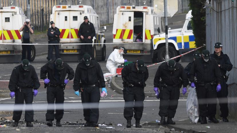 В Северной Ирландии задержаны два человека после убийства журналистки