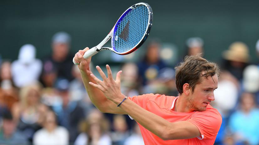 Медведев проиграл Лайовичу в полуфинале турнира ATP в Монте-Карло