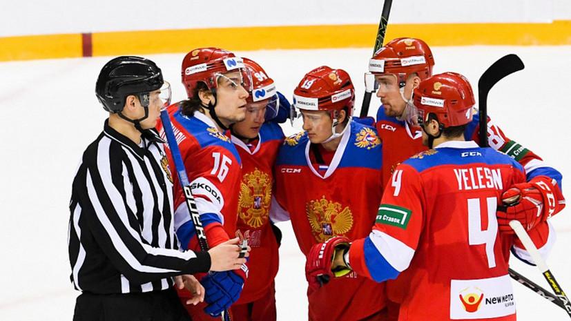 Сборная России во второй раз обыграла Швейцарию в рамках подготовки к ЧМ по хоккею