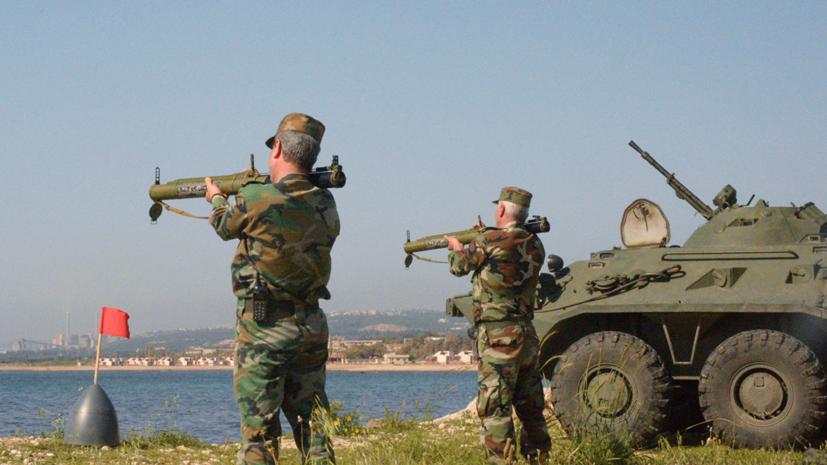 Борисов: Россия арендует порт Тартус в Сирии на 49 лет