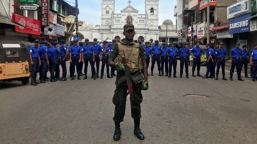 В гостиницах и церквях Шри-Ланки произошло шесть взрывов