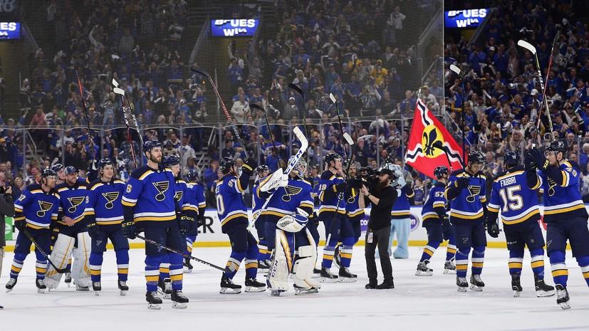 «Сент-Луис» выиграл серию первого раунда плей-офф НХЛ с «Виннипегом»