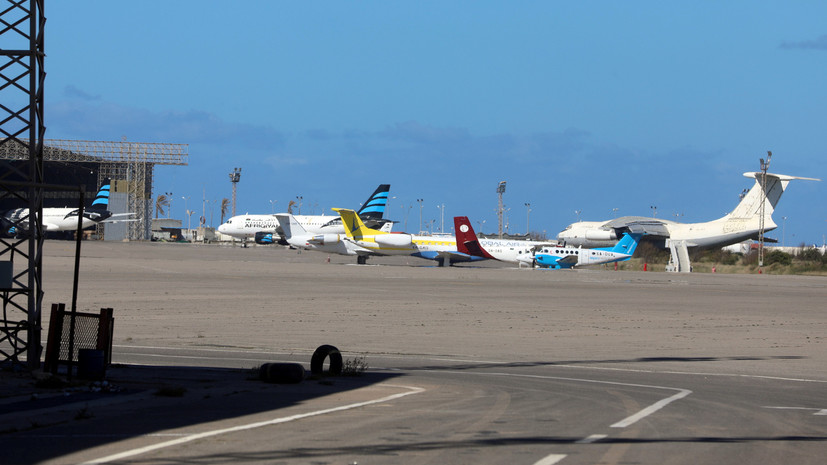 Международный аэропорт в Триполи возобновил работу
