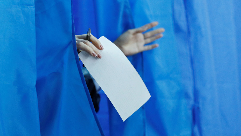На Украине не открылся один избирательный участок