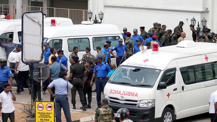 В столице Шри-Ланки произошёл ещё один взрыв