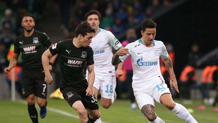 Миллер о матче «Краснодар» — «Зенит»: эта игра была из серии «золотой фонд российского футбола»