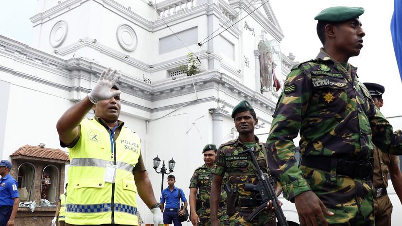 СМИ: В связи со взрывами на Шри-Ланке задержаны семь человек