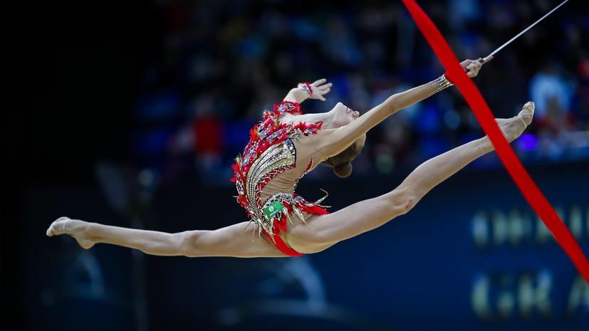 Гимнастка Гузенкова завоевала золото в упражнениях с лентой на этапе КМ в Узбекистане