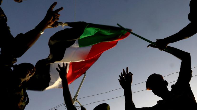 Глава военного совета Судана поблагодарил Россию за поддержку