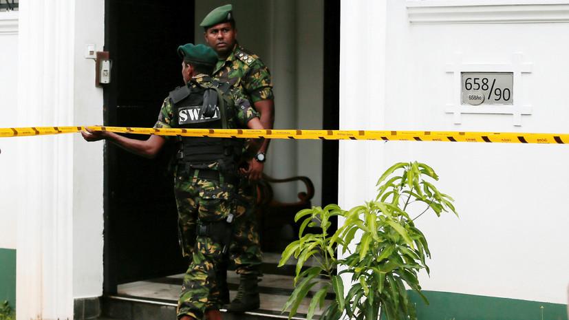 При взрывах на Шри-Ланке погибли пять граждан Британии