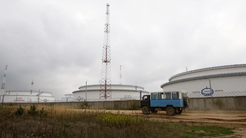 В Минэнерго России прокомментировали ситуацию с нефтью в «Дружбе»