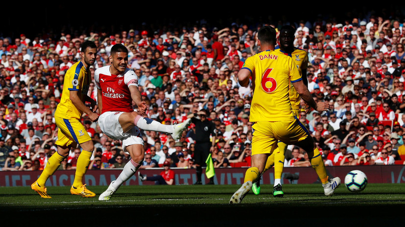 «Арсенал» уступил «Кристал Пэлас» в 35-м туре АПЛ