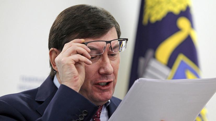 Зеленский намерен снять Луценко с должности генпрокурора Украины