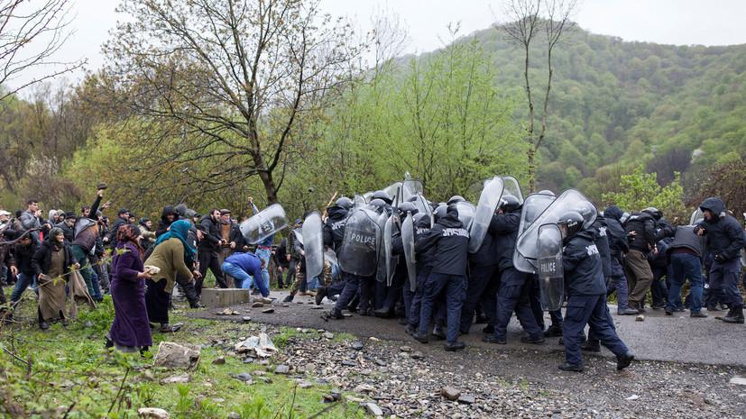 В Грузии возбудили дело после столкновений в Панкисском ущелье