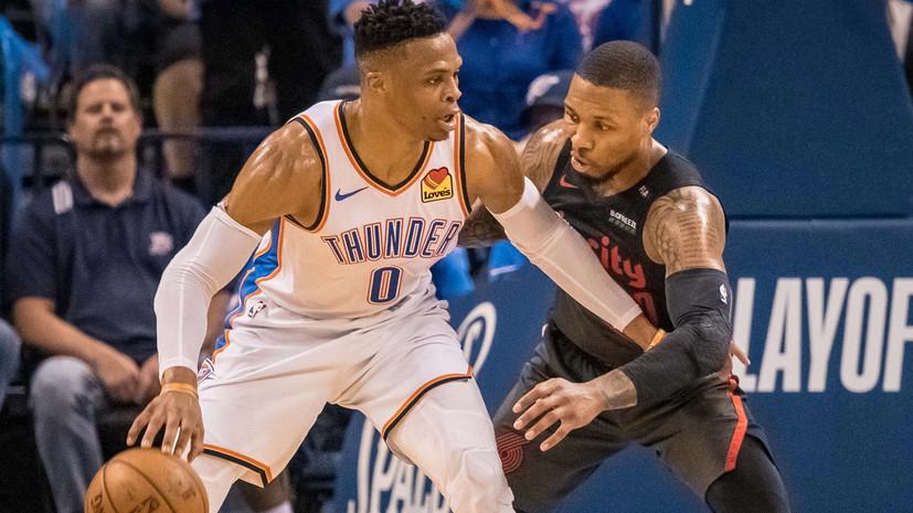 «Портленд» и «Торонто» добились выездных побед в плей-офф НБА