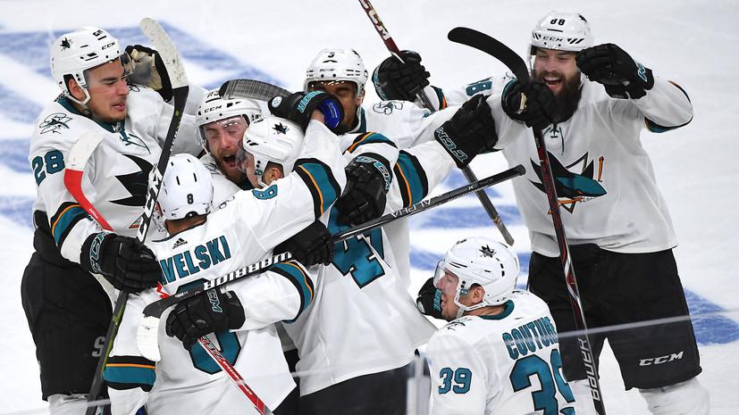 Хоккеист «Сан-Хосе» Гертл стал автором самого позднего гола в меньшинстве за всю историю плей-офф НХЛ