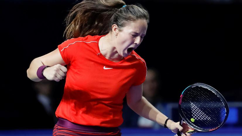 Теннисистка Касаткина сохранила 22-ю позицию в рейтинге WTA