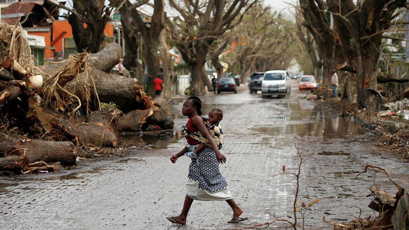 Российские спасатели доставили в Мозамбик более 30 тонн гумпомощи