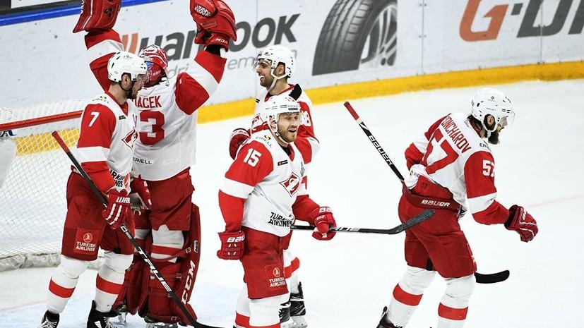 СМИ: Шестеро хоккеистов покинут «Спартак»