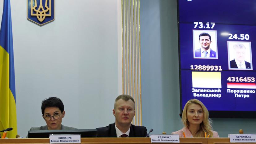 Эксперт прокомментировал предварительные итоги выборов президента Украины
