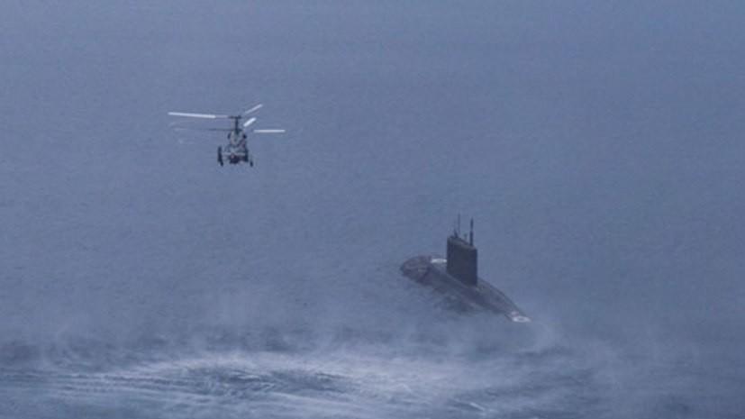 Морская авиация ЧФ провела совместные учения с подлодкой «Ростов-на-Дону»