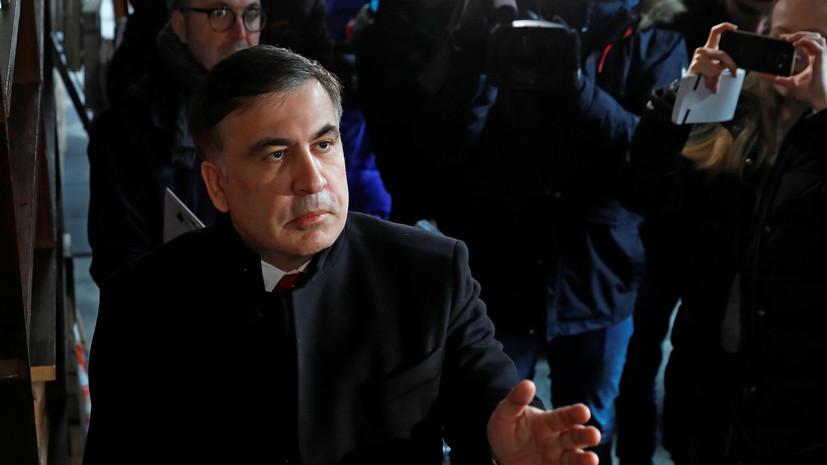 Погранслужба Украины: Саакашвили не имеет оснований для въезда в страну