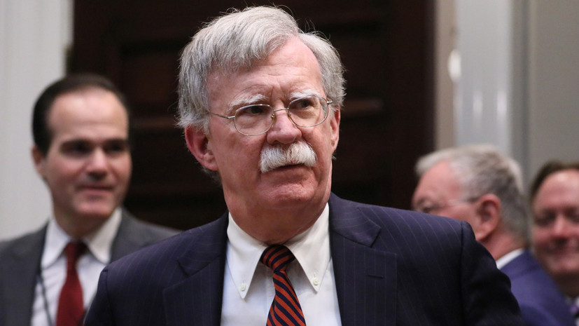 Болтон потребовал от Ирана «изменить поведение»