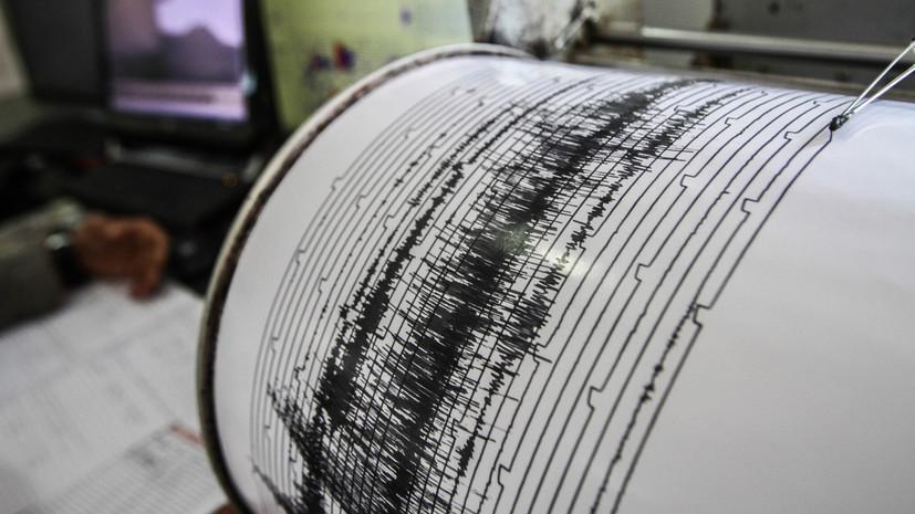 У побережья Японии произошло землетрясение магнитудой 5,4