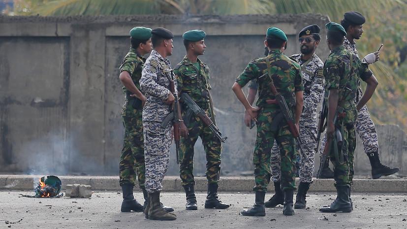 В связи со взрывами на Шри-Ланке задержаны 40 человек