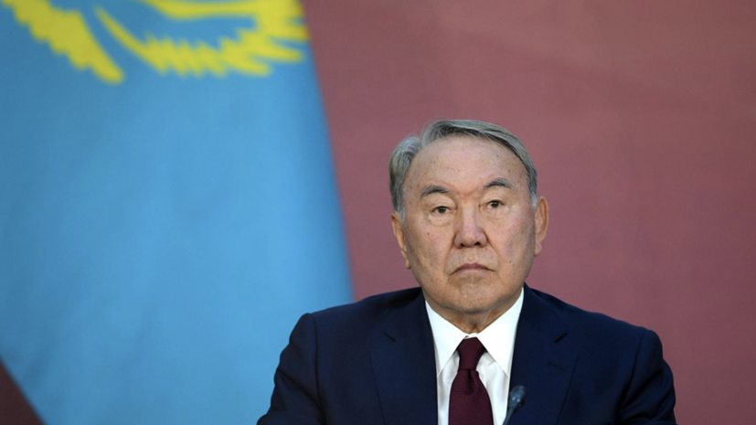 Назарбаев призвал казахстанцев поддержать Токаева на выборах