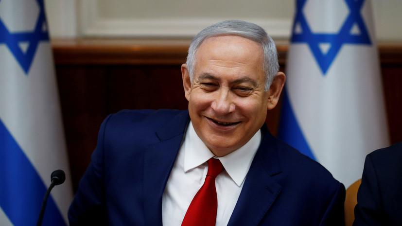 Нетаньяху поздравил Зеленского с победой на выборах