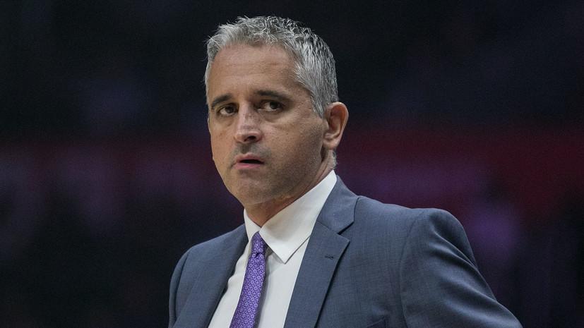 «Финикс» уволил первого европейского главного тренера в истории НБА через год после назначения