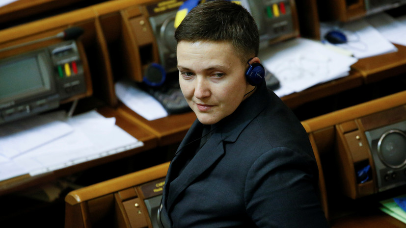 Савченко вернулась в Верховную раду