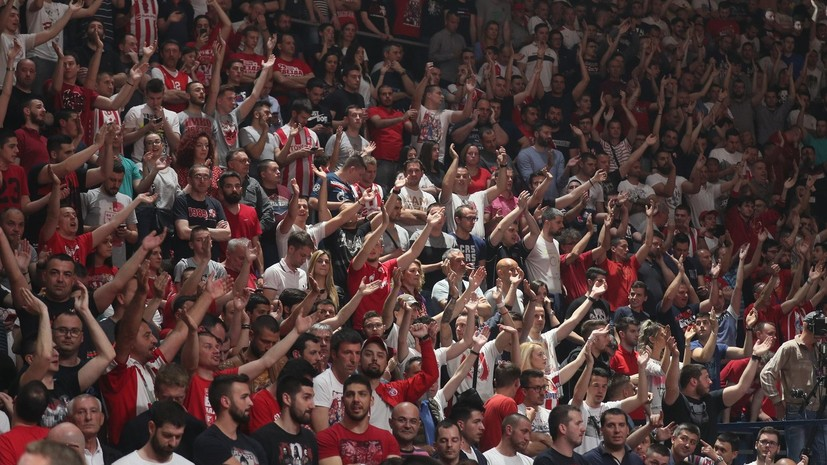 Нападение на игроков и расистские оскорбления: как баскетбольный матч в Белграде обернулся грандиозным скандалом