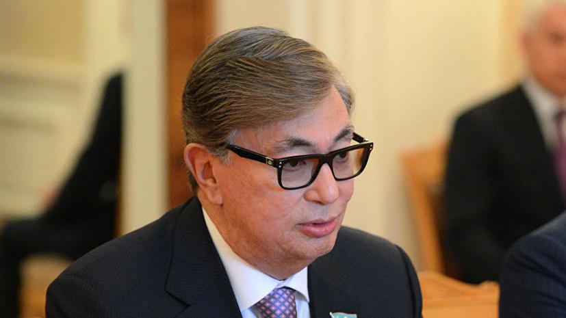 Токаев подал в ЦИК Казахстана документы для участия в выборах