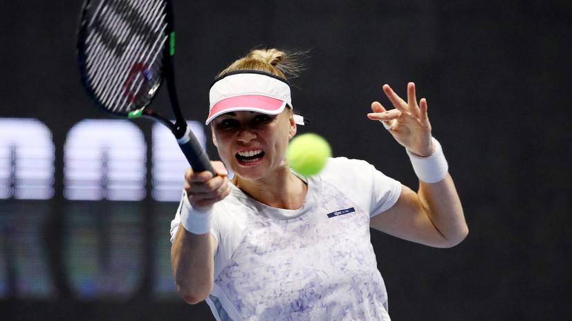 Звонарёва получила право сыграть в основной сетке теннисного турнира в Штутгарте