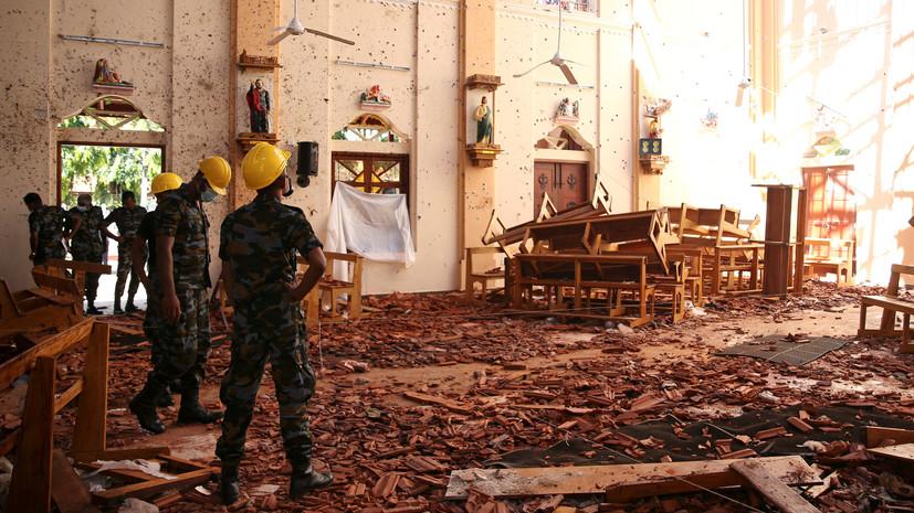 В результате взрывов на Шри-Ланке погибли 45 детей